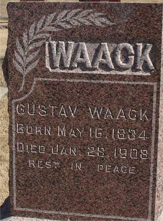WAACK, GUSTAV - Ida County, Iowa | GUSTAV WAACK