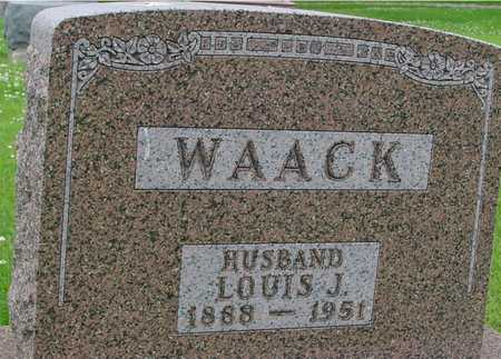 WAACK, LOUIS J. - Ida County, Iowa | LOUIS J. WAACK