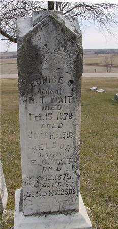 WAIT, EUNICE O. & NELSON - Ida County, Iowa | EUNICE O. & NELSON WAIT