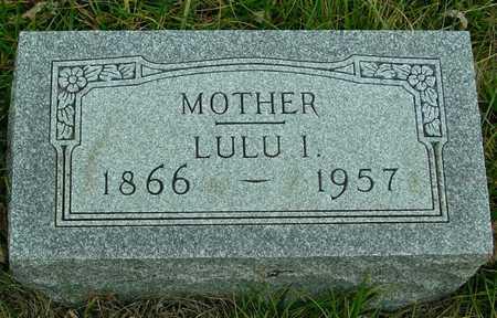 WAIT, LULU I. - Ida County, Iowa   LULU I. WAIT