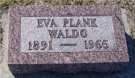 WALDO, EVA - Ida County, Iowa | EVA WALDO