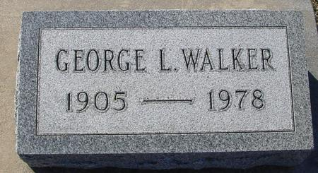 WALKER, GEORGE L. - Ida County, Iowa | GEORGE L. WALKER