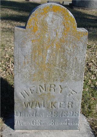 WALKER, HENRY F. - Ida County, Iowa | HENRY F. WALKER