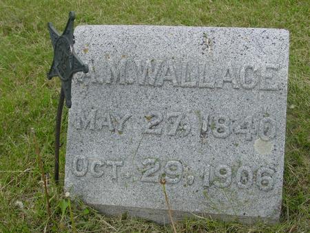 WALLACE, A. M. - Ida County, Iowa | A. M. WALLACE