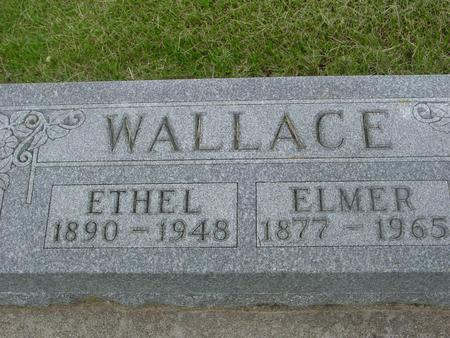 WALLACE, ELMER - Ida County, Iowa   ELMER WALLACE