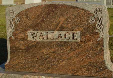 WALLACE, FAMILY MARKER - Ida County, Iowa | FAMILY MARKER WALLACE