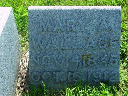 WALLACE, MARY A. - Ida County, Iowa | MARY A. WALLACE