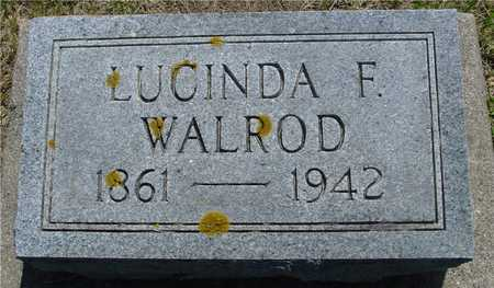 WALROD, LUCINDA F. - Ida County, Iowa | LUCINDA F. WALROD