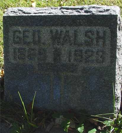 WALSH, GEORGE - Ida County, Iowa | GEORGE WALSH