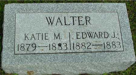 WALTER, EDWARD & KATIE - Ida County, Iowa   EDWARD & KATIE WALTER