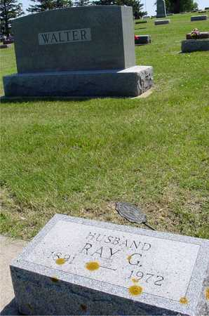 WALTER, RAY G. - Ida County, Iowa   RAY G. WALTER