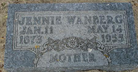 WANBERG, JENNIE - Ida County, Iowa | JENNIE WANBERG