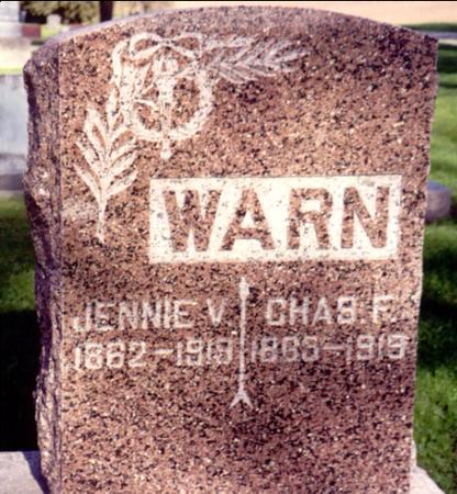 WARN, CHARLES - Ida County, Iowa | CHARLES WARN