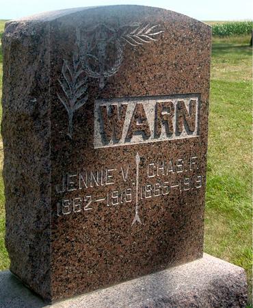 WARN, JENNIE & CHARLES - Ida County, Iowa | JENNIE & CHARLES WARN