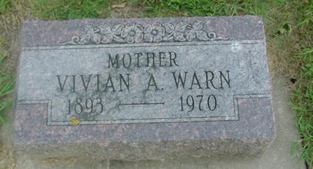 WARN, VIVIAN - Ida County, Iowa   VIVIAN WARN