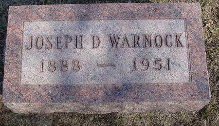WARNOCK, JOSEPH D. - Ida County, Iowa   JOSEPH D. WARNOCK