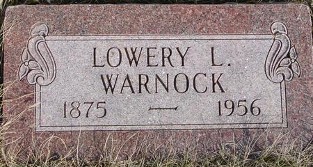 WARNOCK, LOWERY L. - Ida County, Iowa   LOWERY L. WARNOCK