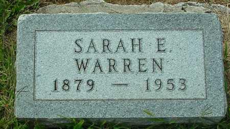WARREN, SARAH E. - Ida County, Iowa   SARAH E. WARREN