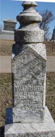WARRINER, NORMA L. - Ida County, Iowa | NORMA L. WARRINER