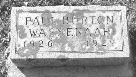 WASSENAAR, PAUL BURTON - Ida County, Iowa | PAUL BURTON WASSENAAR