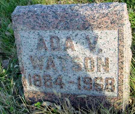 WATSON, ADA V. - Ida County, Iowa | ADA V. WATSON