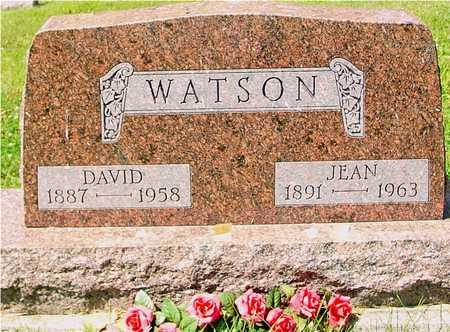 WATSON, DAVID & JEAN - Ida County, Iowa   DAVID & JEAN WATSON