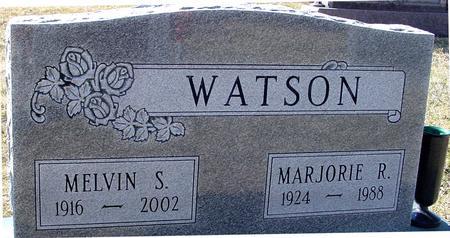 WATSON, MELVIN & MARJORIE - Ida County, Iowa | MELVIN & MARJORIE WATSON