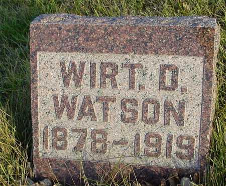 WATSON, WIRT D. - Ida County, Iowa   WIRT D. WATSON