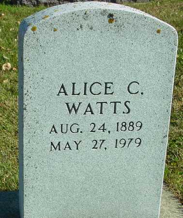 WATTS, ALICE C. - Ida County, Iowa | ALICE C. WATTS