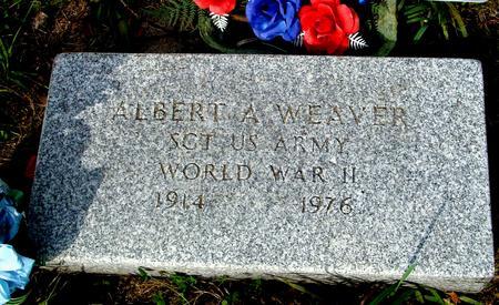 WEAVER, ALBERT A. - Ida County, Iowa | ALBERT A. WEAVER