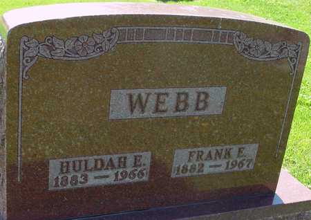 WEBB, FRANK & HILDAH - Ida County, Iowa | FRANK & HILDAH WEBB