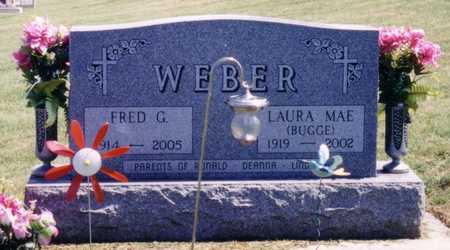 WEBER, LAURA MAE - Ida County, Iowa | LAURA MAE WEBER