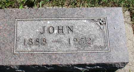 WEBER, JOHN - Ida County, Iowa   JOHN WEBER
