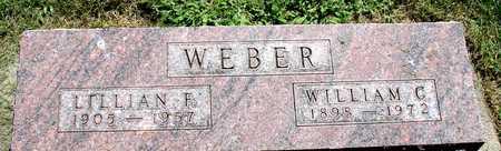 WEBER, LILLIAN F. - Ida County, Iowa | LILLIAN F. WEBER