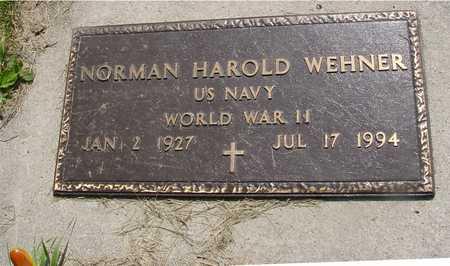 WEHNER, NORMAN HAROLD - Ida County, Iowa | NORMAN HAROLD WEHNER