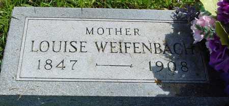 WEIFENBACH, LOUISE - Ida County, Iowa   LOUISE WEIFENBACH