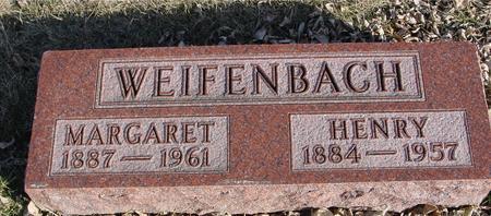 WEIFENBACH, MARGARET - Ida County, Iowa   MARGARET WEIFENBACH