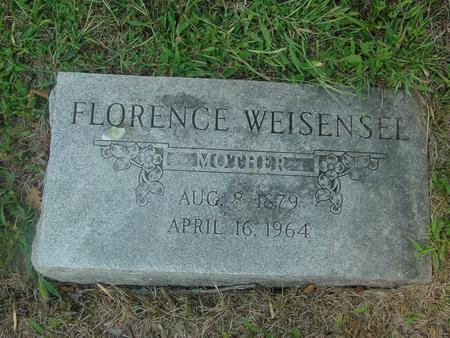 WEISENSEE, FLORENCE - Ida County, Iowa   FLORENCE WEISENSEE