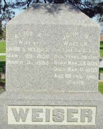 WEISER, ALICE A. - Ida County, Iowa | ALICE A. WEISER