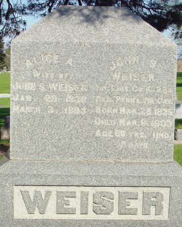 WEISER, JOHN - Ida County, Iowa | JOHN WEISER