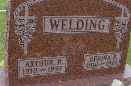 WELDING, ARTHUR R. & REGINA - Ida County, Iowa | ARTHUR R. & REGINA WELDING