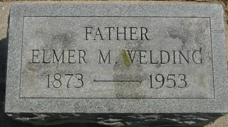 WELDING, ELMER M. - Ida County, Iowa   ELMER M. WELDING