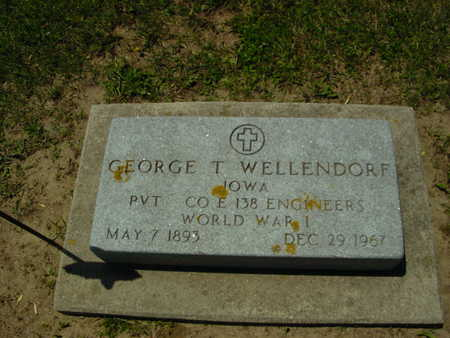 WELLENDORF, GEORGE T. - Ida County, Iowa | GEORGE T. WELLENDORF