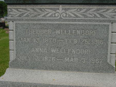 WELLENDORF, THEODOR - Ida County, Iowa | THEODOR WELLENDORF