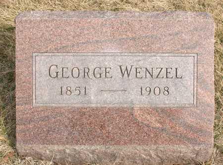WENZEL, GEORGE - Ida County, Iowa | GEORGE WENZEL