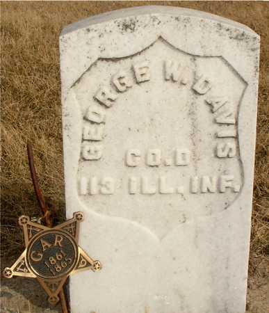 WENZEL, GEORGE W. DAVIS - Ida County, Iowa   GEORGE W. DAVIS WENZEL