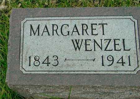 WENZEL, MARGARET - Ida County, Iowa   MARGARET WENZEL