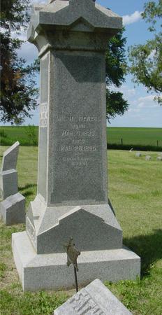 WENZEL, WILLIAM H. - Ida County, Iowa | WILLIAM H. WENZEL