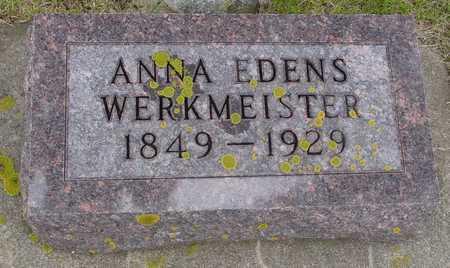 EDENS WERKMEISTER, ANNA - Ida County, Iowa | ANNA EDENS WERKMEISTER
