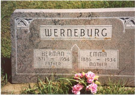 WERNEBURG, HERMAN & EMMA - Ida County, Iowa | HERMAN & EMMA WERNEBURG
